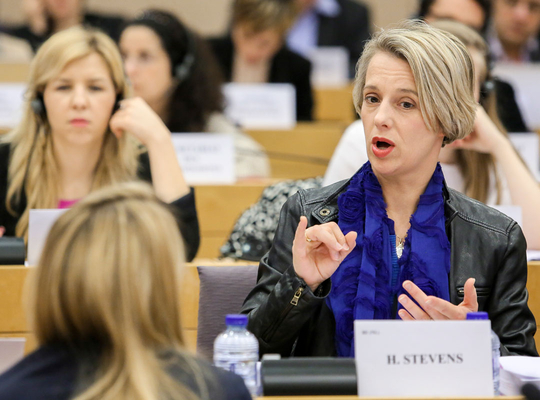 Helga Stevens, candidate for President of the European Parliament