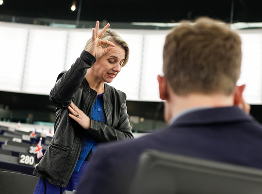 Improved status for sign language interpreters in Europe
