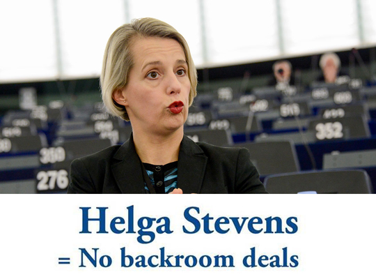 Helga Stevens to participate in first-ever live debate between European Parliament presidential candidates