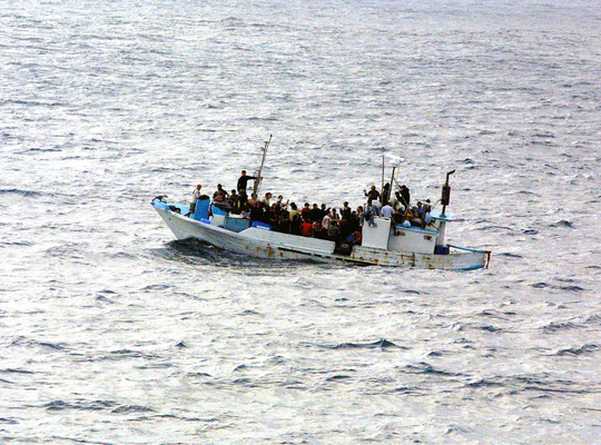 European coast guard must help limit flow of asylum seekers